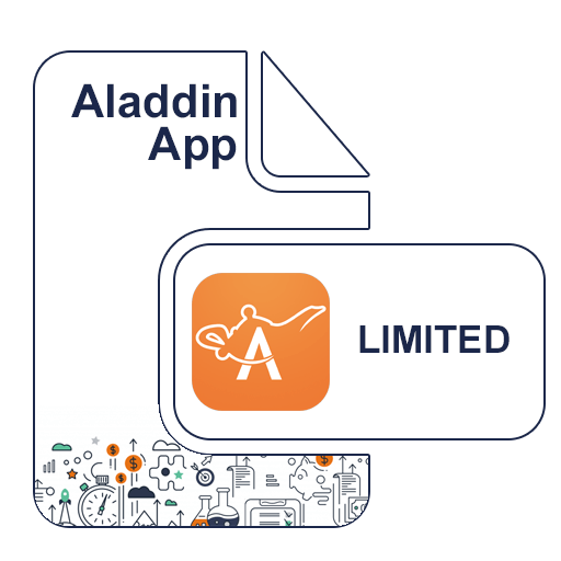 Aladdin B2B Shop - Limited App