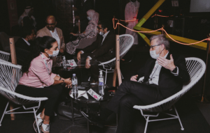 Gitex 2020 - Investors Lounge (Courtesy of Aladdin)
