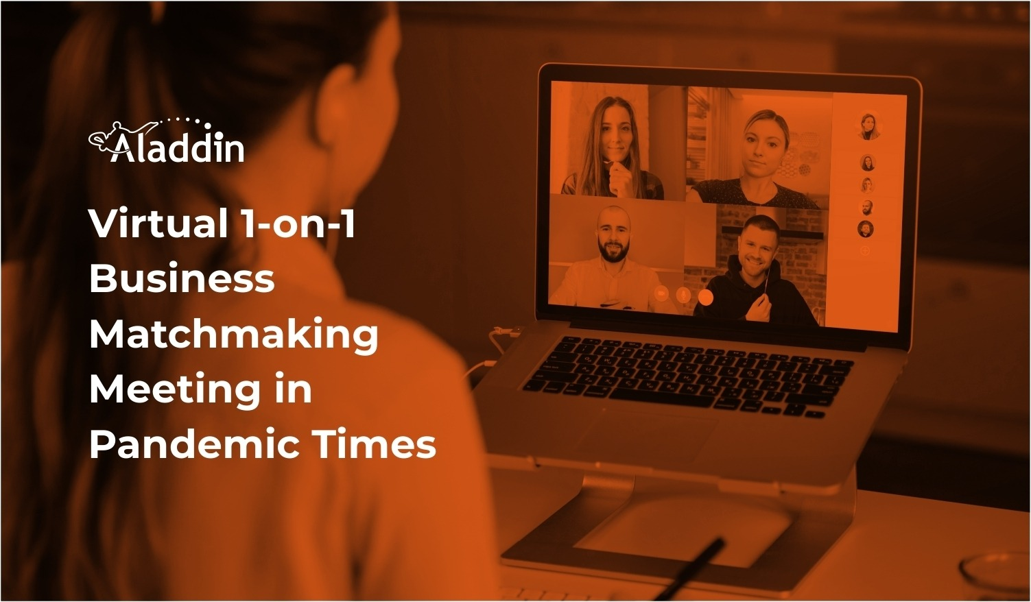 Virtual 1-on-1 Business Matchmaking Meeting in Pandemic Times
