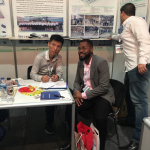 David Aderounmu with Jinxiang Panal Industry