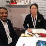Saleh Akrabi of Foneshack and Nantong Toptex